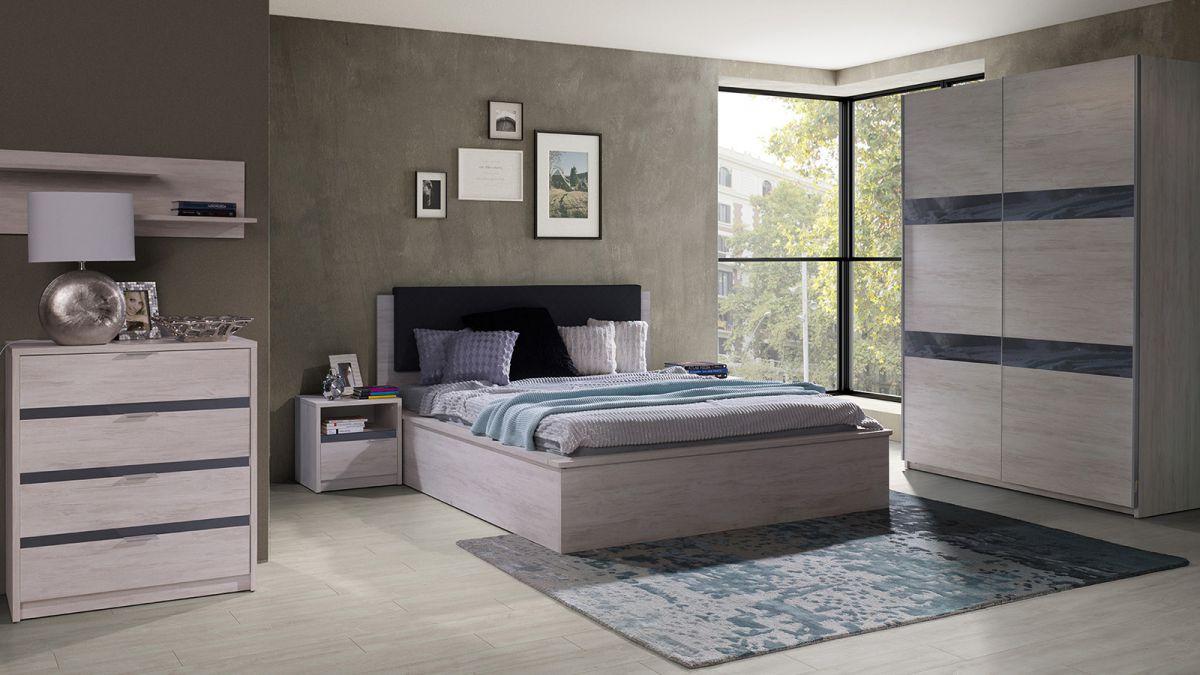 Sypialnia Deni -dąb biały