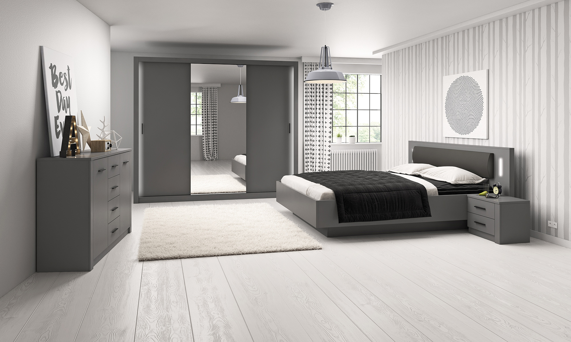 Sypialnia Stilo
