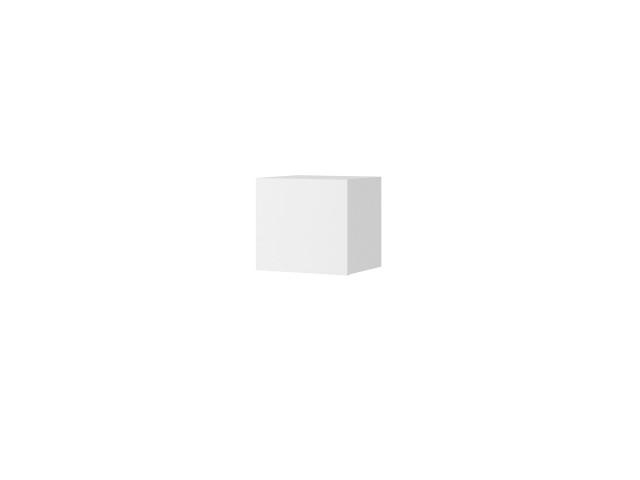 Półka wisząca C Kwadrat CALABRINI, System CALABRINI