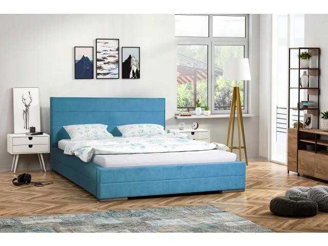 Łóżko tapicerowane Monika pod materac 140 x 200
