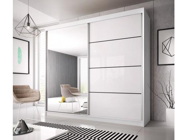 Szafa MALTA 35, Drzwi przesuwne, 183 cm szerokości