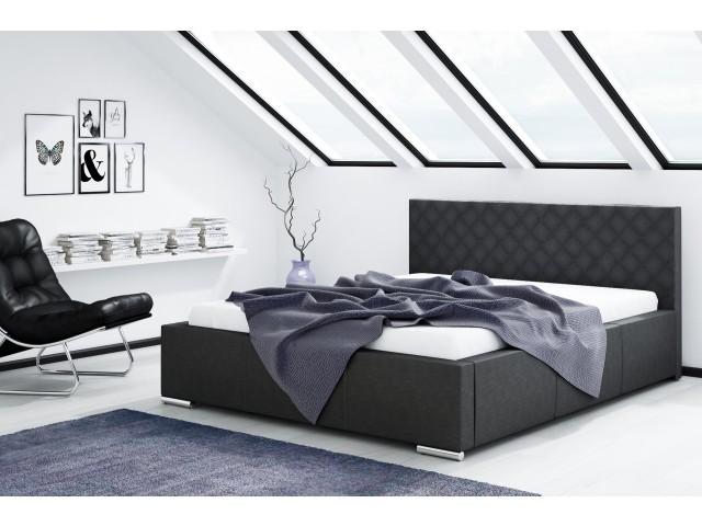 Łóżko tapicerowane Nevada pod materac 140 x200