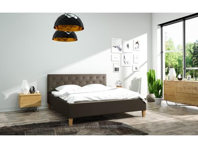 Łóżko tapicerowane Szymon 160 x 200
