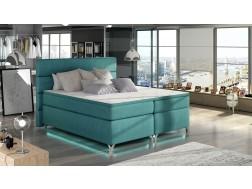 Łóżko kontynentalne AMADEO z powierzchnią spania 160 x 200 cm