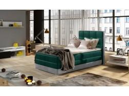 Łóżko kontynentalne ASTER o powierzchni spania 90 x 200 cm