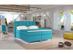 Łóżko kontynentalne BASILIO z powierzchnią spania 160 x 200 cm