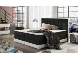Łóżko kontynentalne DAMASO z powierzchnią spania 140 x 200 cm