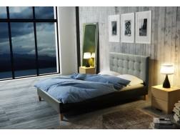Łóżko tapicerowane DAWID pod materac 180 x 200