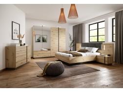 Zestaw mebli sypialnianych ARKO-dąb artisan