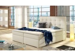 Łóżko kontynentalne INEZ z powierzchnią spania 160 x 200 cm