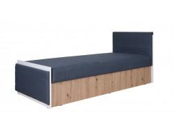 Łóżko młodzieżowe IW ŁÓŻKO 90x200 cm, System IWA