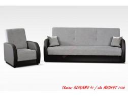 Zestaw LUPO 3R+1, Wersalka + Fotel, Sprężyny