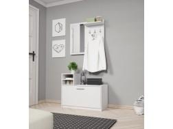 Garderoba do przedpokoju LUNA 80 cm, Lustro
