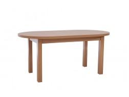 Stół Rozkładany ST 2, 170x90+2x40 cm, Fornir, Różne kolory