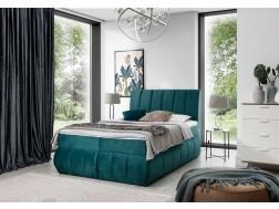 Łóżko kontynentalne VINCENZO 160x200 cm, Boxspring, Sypialnia