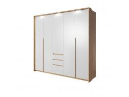 Szafa 5-drzwiowa XELO 230 cm + LED, Sypialnia XELO, System XELO