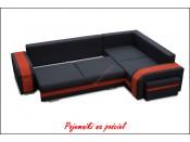 Narożnik pokojowy ASSAN 305 cm, Rozkładany, Sprężyny