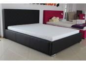 Łóżko tapicerowane NEVADA pod materac 160 x 200 z pojemnikiem na pościel