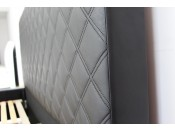 Łóżko tapicerowane NEVADA pod materac 180 x 200 z pojemnikiem na pościel.