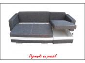 Narożnik pokojowy R-MINI 236 cm, Rozkładany, Sprężyny